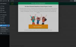 Page screenshot: Cloud Settings ‹ Test site — WordPress