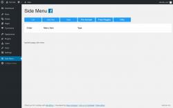 Page screenshot: Side Menu