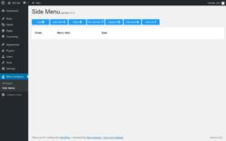 Page screenshot: Wow-Company → Side Menu
