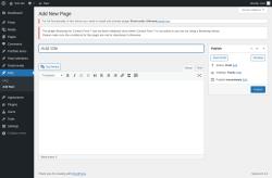 Page screenshot: FAQ → Add New