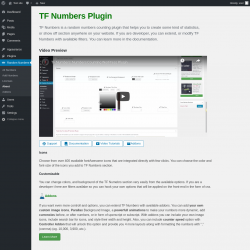 Page screenshot: About ‹ Test site — WordPress