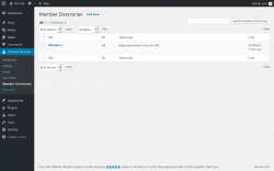 Page screenshot: Ultimate Member → Member Directories
