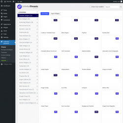 Page screenshot: Unlimited Elements
