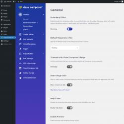 Page screenshot: Visual Composer