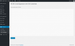 Page screenshot: VK ExUnit → CSS Customize