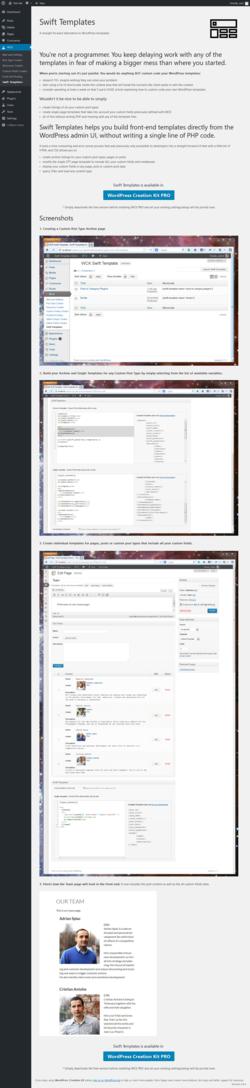 Report - Custom Post Types and Custom Fields creator – WCK
