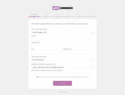 Page screenshot: WooCommerce › Setup Wizard