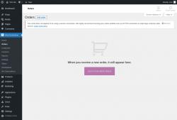 Page screenshot: WooCommerce → Orders