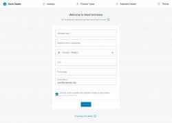 Page screenshot: Setup Wizard ‹ WooCommerce ‹ Test site — WooCommerce