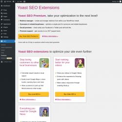 Page screenshot: SEO  → Premium