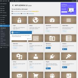 Page screenshot: WP Admin UI