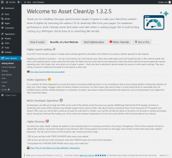 Page screenshot: Asset CleanUp → Benefits of a Fast Website