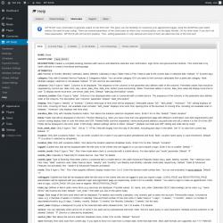 Page screenshot: WP BASE → Help → Shortcodes