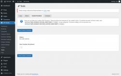 Page screenshot: WP BASE → Tools → Custom Functions
