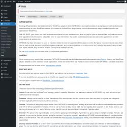 Page screenshot: WP BASE → Help