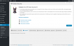 Page screenshot: WP Cerber →  Lockouts 0