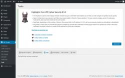 Page screenshot: WP Cerber → Tools →  Log