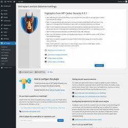 Page screenshot: WP Cerber → Anti-spam →  Help