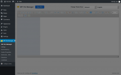 Page screenshot: WP File Manager