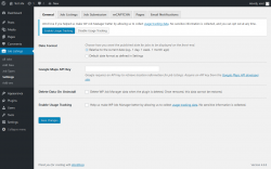 Page screenshot: Job Listings → Settings