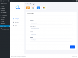 Page screenshot: WP Cloud