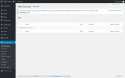 Page screenshot: RSS Aggregator