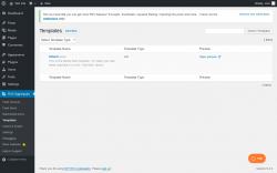 Page screenshot: RSS Aggregator → Templates