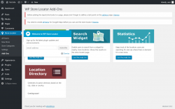 Page screenshot: Store Locator → Add-Ons