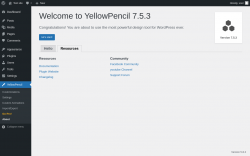 Page screenshot: YellowPencil → About → Resources